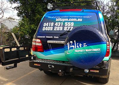 blitz door shut